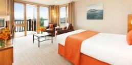 Hotel gift voucher sales case study - Lodge on Loch Lomond Loch view room