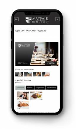VoucherCart on iPhone